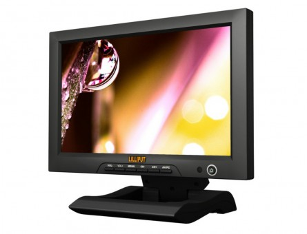 "Lilliput FA1013,10.1"" LCD HDMI Monitor With HDMI & YPbPr Input, To Connect With Full HD Video Camera"