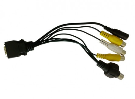 14 Pin SKS Cable For Lilliput Monitor 619 Series,669GL-70 Series,869GL-80 Series,FA1011-NP Series
