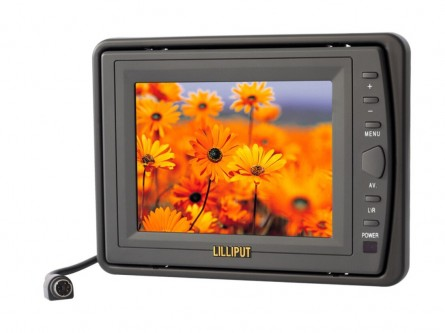 5.6 Inch Car Monitor,LILLIPUT 227GL-56NP(HR) Multi-Language OSD Monitor,AV Input/1 Audio&2 Video Input