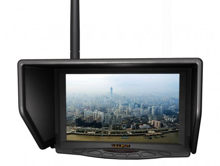"""LILLIPUT 7"""" 329/W FPV Monitor Single 5.8Ghz AV Receivers 4 Bands And Total 31 Channels For Fat Shark"""
