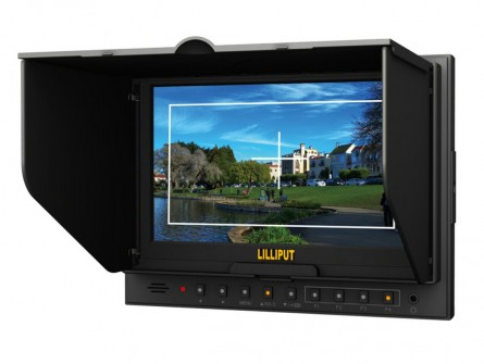 "7"" Camera Field Monitor & LCD Monitor With HDMI Input & Output For Canon 5D-II/O Camera.lilliput 7 Inch Monitor,Lilliput Monitor"