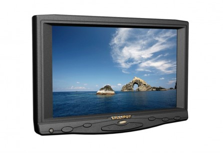 "lilliput 7"" TFT LCD Monitor ,With VGA Interface, Connect With Computer,lilliput 619A,Built-in Speaker,800 x 480 (Support Up to 1920 x 1080)"
