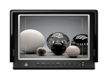 Lilliput 664/P Monitor,7 inch 16:9 LED Field Monitor With HDMI input & output, Advanced Functions Optimised For DSLR Cameras.