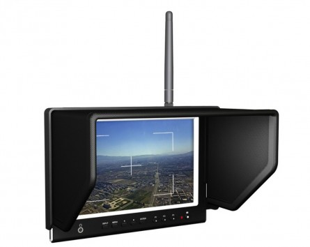 """Lilliput 7"""" 664/W FPV Slim Monitor For 5.8GHz Aerial Fly Wireless Camera System High Resolution1280x800,178° Wide Angle"""