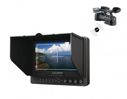 "Lilliput 7 "" Wireless HDMI Monitor 665/O/WH (Wireless HDMI input & HDMI output)"