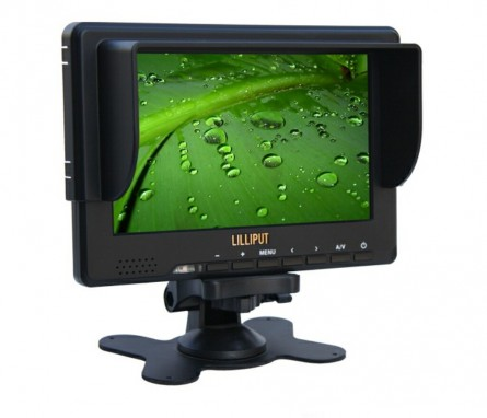 Lilliput 7 Inch 667GL-70NP/H/Y/S HDMI Monitor For HD Camera With Ypbpr,3G-SDI, HDMI, Component,And Composite Video Inputs