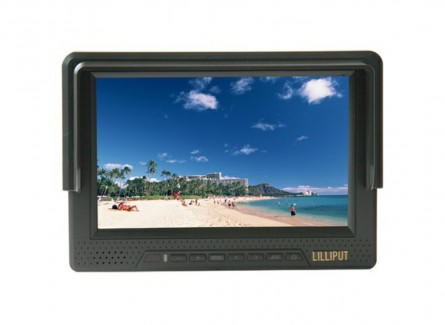 Lilliput 668GL Field Monitor for DSLR HD Video Camera,1080P,Internal Battery (HDMI, Component, Composite Input)