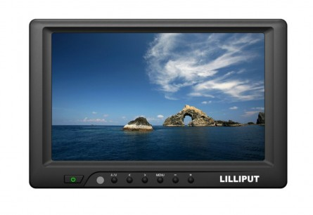 "Lilliput 669GL-70NP/C/T, 7"" High Brightness Touch Screen Monitor With HDMI, DVI, VGA  Inputs + Auto Switching And 4 Wire Touch Panel"