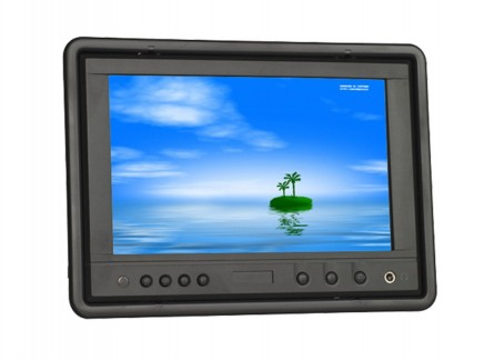 LILLIPUT HR702-NP/C/T 7 Inch LED Headrest Touch Screen Monitor,With VGA Connect With Computer,1 Audio, 2 Video Input,Built-in Speaker