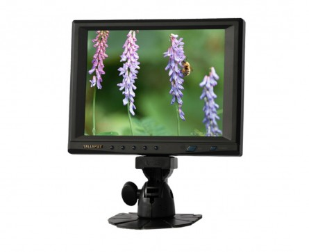 8 Inch Touchscreen LED Monitor,LILLIPUT 859GL-80NP/C/T With VGA Port for PC,Multi-Language OSD,Remote Control,Build-in Speaker