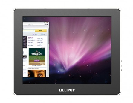 Professional Lilliput 9.7'' UM-900 Color TFT LCD USB Monitor With Mini HDMI,Mini USB,USB Input,Most Suitable Display For VCD, DVD and GPS System For Motorcars And Ships