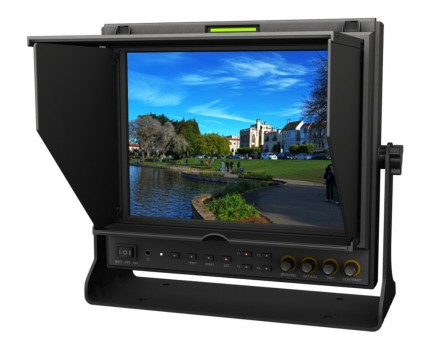 Professional Monitor Lilliput 9.7'' 969 B/O/P Color LCD Monitor With HDMI,Ypbpr, Dual Audio Input / HDMI Output,High Resolution 1024×768