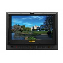 "Lilliput 5D-II/O/P,Peaking Zebra Exposure Filter,With HDMI  Input/Output,7"" TFT LCD Monitor+Hot Shoe Mount+Mini HDMI Cable"