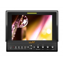 """Lilliput 663/O HMDI Output 7""""LED Monitor 1280x800 IPS 800:1 Contrast With Suit Case+Folding Sun Shade Cover For DV DSLR Video Camera"""