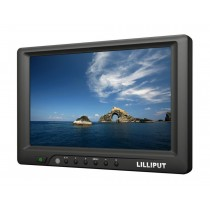 "Lilliput 7"" 669GL-70NP/C  HDMI,DVI VGA Monitor,Shoe Mount +Sun Hood for DSLR Camera"