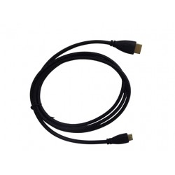 HDMI A/C Cable For Lilliput Monitor 667GL-70 Series,668GL-70 Series,569 Series,5D Series,665 Series,665/WH Series,663 Series,664 Series,TM-1018 Series,FA1000-NP Series,UM-900 Series
