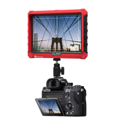 Lilliput A7S 7 Inch On Camera Field Monitor Supports 4K HDMI Input Loop Output 1920x1200 Native Resolution for DSLR Mirrorless