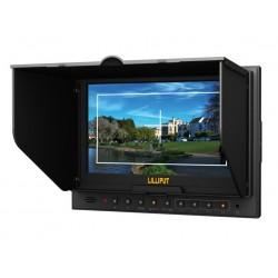 """7"""" カメラ フィールド モニター & HDMI 入力 & リリパット キヤノン 5d-II/O Camera, Lilliput 7 インチ モニターの出力と液晶モニター"""