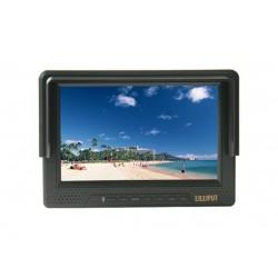 内部バッテリ (HDMI、コンポーネント、コンポジット入力) 1080 P HD ビデオ カメラ デジタル一眼レフ用 Lilliput 668GL フィールド モニター